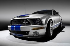 Celebrating the fortieth anniversary of the original Shelby Cobra GT500KR, Ford and Shelby collaborate on a new 'King of the Road' Mustang with the 2008 Shelby GT500KR.