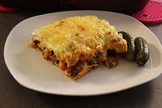 Sallys Blog - Lasagne nach Sallys Art