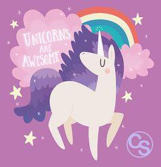 Unicorns are awesome!