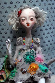 unique art doll PAULINA