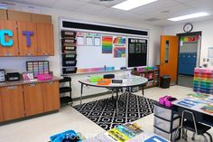 Classroom Setting, Classroom Setup, Classroom Organization, 4th Grade Math, Fifth Grade, Classroom Pictures, Class Decoration, Beginning Of The School Year, Emerson