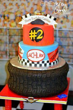 Two-lladega 2nd Birthday | CatchMyParty.com
