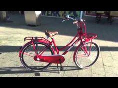 Dames Transportfiets Vogue Elite Rood 28 inch Nieuwefiets-kopen.nl