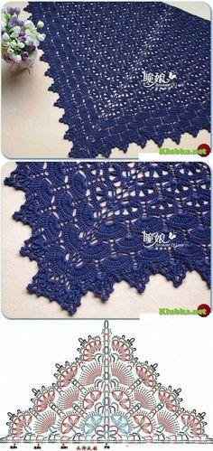 MY FAVORITES KNIT-HOOK: 18 crochet shawls grids