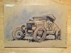 Auto Art Advent 13 by Stefan Marjoram, via Flickr