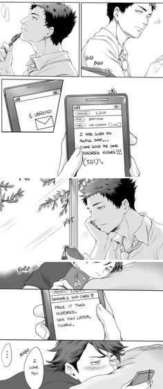 Oikawa x Iwaizumi - it's so cute