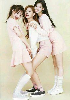 Jihyo,Tzuyu & Sana