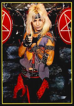 Vince Neil - circa 1984 80s Metal Bands, 80s Hair Metal, Hair Metal Bands, Hair Bands, Girls Girls Girls, Glam Metal, Tommy Lee, Nikki Sixx, Heavy Rock