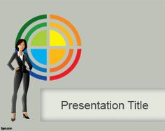 Business Lady PowerPoint Template is a free PowerPoint template background that you can download to make presentations for businesses