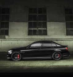 Mercedes-Benz C63 AMG - photography by Alexey Chensan #CarFlash