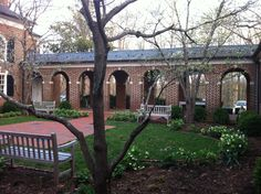 Spring at Emmanuel Episcopal Church, Greenwood, VA  Where John and I were married!