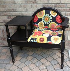 pinterest redo furniture | Telephone chair | Furniture Redo