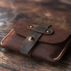 Treasure Chest Credit Card Wallet - Joojoobs Original Design - Leather Wallets…