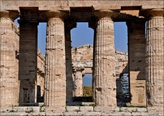 Temple of Athena, Paestum's Unesco-listed temples are among the best preserved monuments of Magna Graecia, the Greek colony that once covered much of southern Italy.