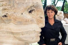 The British sculptor Emily Young describes a collaboration with her quarried raw materials.