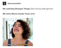 eleven is queen / stranger things