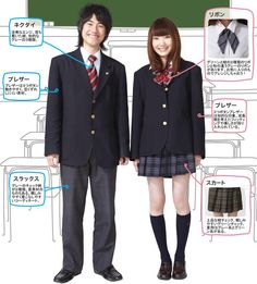 Identification- The Japanese school uniform is modeled on European-style naval uniforms and was first used in Japan in the late 19th century. Today, school uniforms are common in many of the Japanese public and private school systems.