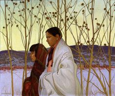 Martin Hennings Homeward Bound, Oil on canvas, 30 x 36 inches x cm.) Smithsonian American Art Museum Transfer from the U. Department of Labor Canvas Art Prints, Oil On Canvas, Taos Pueblo, Southwest Art, Native American Indians, Native Americans, American Artists, American Realism, Indian Art