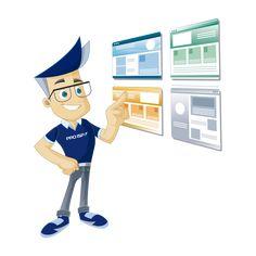 Hos PRO ISP kan du lage din første hjemmeside på kort tid uten særlig teknisk kunnskap. Bli synlig på nett i dag, enten du ønsker blogg, informasjon eller salg på nett. Family Guy, Website, Guys, Fictional Characters, Fantasy Characters, Sons, Boys, Griffins