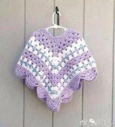 Petite women poncho - Crochet shawl - Retro poncho - Girls clothing - Crocheted poncho Petite women poncho Crocheted shawl Teens retro by LurayKnitwear Crochet Pullover Pattern, Crochet Baby Poncho, Crochet Poncho Patterns, Crochet Girls, Crochet For Kids, Crochet Shawl, Knit Crochet, Crochet Style, Crochet Ideas