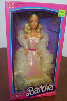 crystal barbie- loved her!