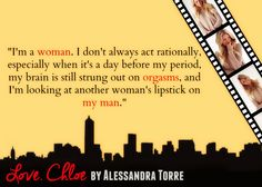 Silence Is Read:  #teaser from Love, Chloe By Alessandra Torre