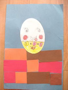 Preschool Crafts for Kids*: Humpty Dumpty Craft
