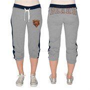 G-III Chicago Bears Ladies Divisional Rival Capri Pants - Ash