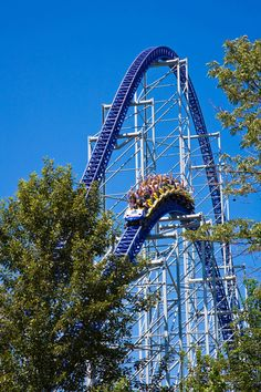 cedar+point   ... hour ride on 310 foot tall Millennium Force coaster at Cedar Point