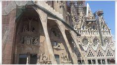 Igreja da Sagrada Família - Barcelona - Espanha - Junho 2014