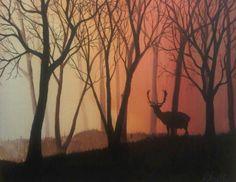 Buck Street, acrylic on canvas