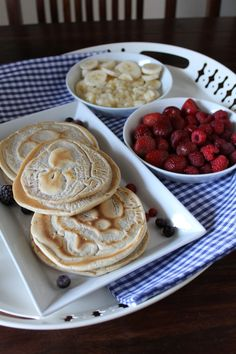 Sonntagsfrühstück Pancakes - vegan und zuckerfrei
