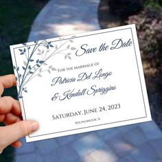 save the date postcard55 x 425diydiy wedding template