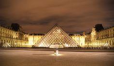 """""""Louvre Paris"""" by Hannes Welker, via 500px."""