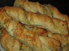 """Schnelle softe italienische Käse-Kräuterstangen « kochen & backen leicht gemacht mit Schritt für Schritt Bilder und """"schmeckt-lecker-geling-Garantie"""" von & mit Slava"""