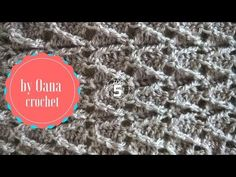 """Learn how to crochet the adorable """"Mini Bean Stitch"""" with this easy video tutorial! Difficulty Level: Easy BLOG http://www.hopefulhoney.com/ YARN USED IN VID..."""