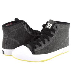 Nine West BILLIE Women's Mid Sneaker - Black - My collection from top #designers Ed Hardy Tattoos, Only Fashion, Womens Fashion, Popular Sneakers, My Collection, Nine West Shoes, Sneakers Fashion, Zip Ups, High Top Sneakers