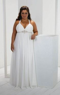 Wedding dress for big bust