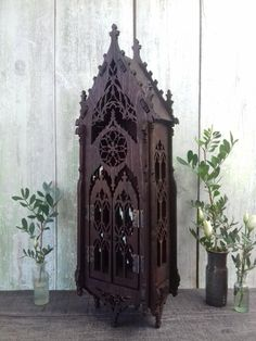 Gothic lamp gothic home decor medieval furniture oriel Etsy Medieval home decor Gothic house Medieval furniture