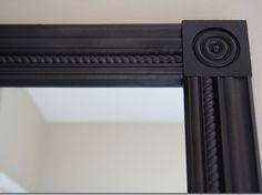 25 Cheap And Easy DIYs That Will Vastly Improve Your Home... Use square molding to frame a mirror