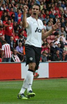 Manchester United striker Robin van Persie has been voted Man of the Match after the Reds' win at Southampton. Official Manchester United Website, Van Persie, Man Utd News, Soccer Guys, Man Of The Match, Barclay Premier League, Manchester United Football, Man United, Southampton