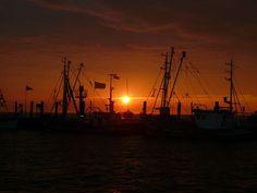 Pôr Do Sol, Mar Do Norte