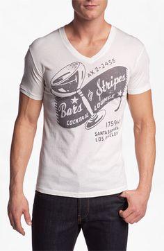 Sol Angeles 'Bars & Stripes' V-Neck T-Shirt | Nordstrom