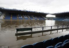 Extreme flooding of Hillsborough in 2007 added to a long list of costs for the club Sheffield Steelers, Sheffield Wednesday, Premier League, Owls, Club, Winter Time, Owl, Tawny Owl