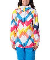 Empyre Girls Palisade Zig Zag 10K Snowboard Jacket 2013
