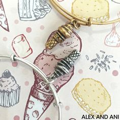 ALEX AND ANI CHARITY BY DESIGN SWEET TREATS BANGLE!
