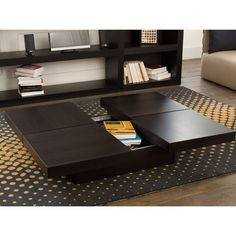 Kyoto Opening 4 Tops Coffee Table