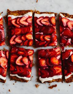 Strawberry Mascarpone Tart | A Cup of Jo