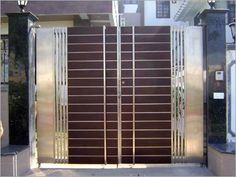 gate design stainless steel strips door