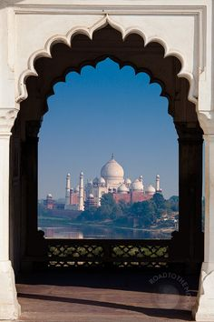 """""""Agra / India / by Road to the moon // Travel Photography // Taj Mahal, Monuments, Temple India, Sites Touristiques, Amazing India, History Of India, Islamic Architecture, Tourist Places, India Travel"""